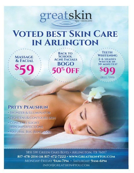 Best Skincare Business in Arlington
